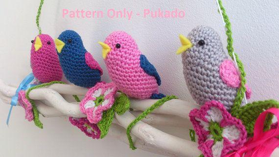 Crochet : Spring Birds