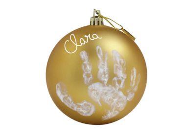 Vianočná guľa Baby Art - Gold