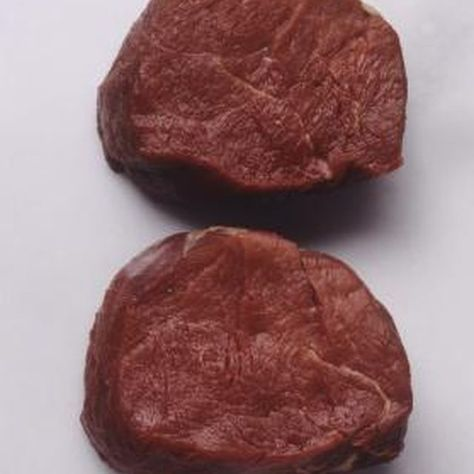 Top sirloin medallions are boneless and relatively small, so they cook quickly.