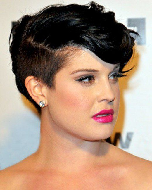 Best HAIR Images On Pinterest Hair Cut Short Bobs And - Undercut hairstyle for chubby face