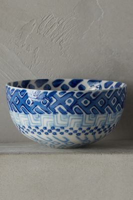 Hand Painted Nut Bowl