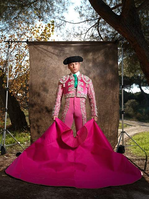 Portraits of Spanish matadors photographed by Diver & Aguilar