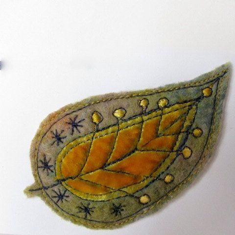felted brooch