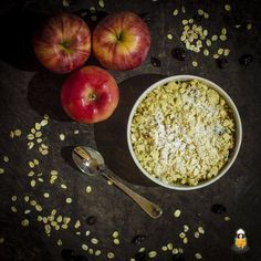 Wintergrillen: Apple Crumble vom Grill | Backina.de