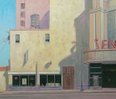 How to paint sun-lit scenes – part two