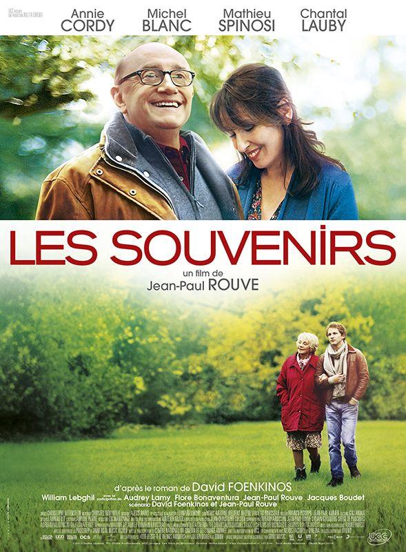 Les Souvenirs est un film de Jean-Paul Rouve avec Michel Blanc, Annie Cordy. Synopsis : Romain a 23 ans. Il aimerait être écrivain mais, pour l'instant, il est veilleur de nuit dans un hôtel. Son père a 62