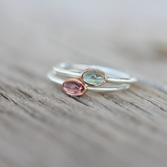 Hey, I found this really awesome Etsy listing at https://www.etsy.com/listing/197567832/tiny-tourmaline-rose-gold-silver-ring