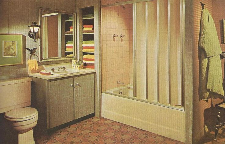 1960s Bathroom Design Ideas ~ Images about mad men inspired dollhouse project