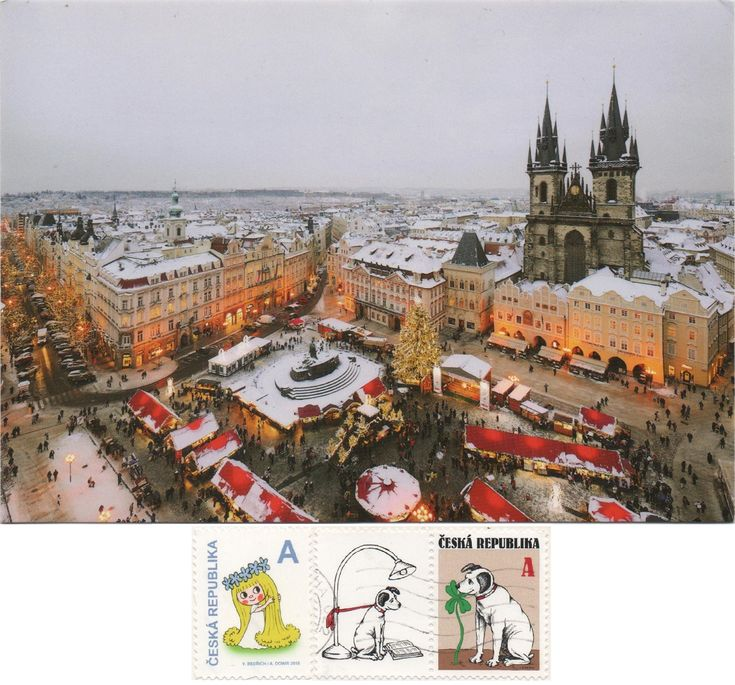 Swap - Arrived: 2017.12.18   ---   Praha Christmas Market at the Old Town Square in front of the Church of Our Lady