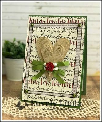 Lovely Linda's Craft Central!!: Tammy Tutterow Prim Hearts