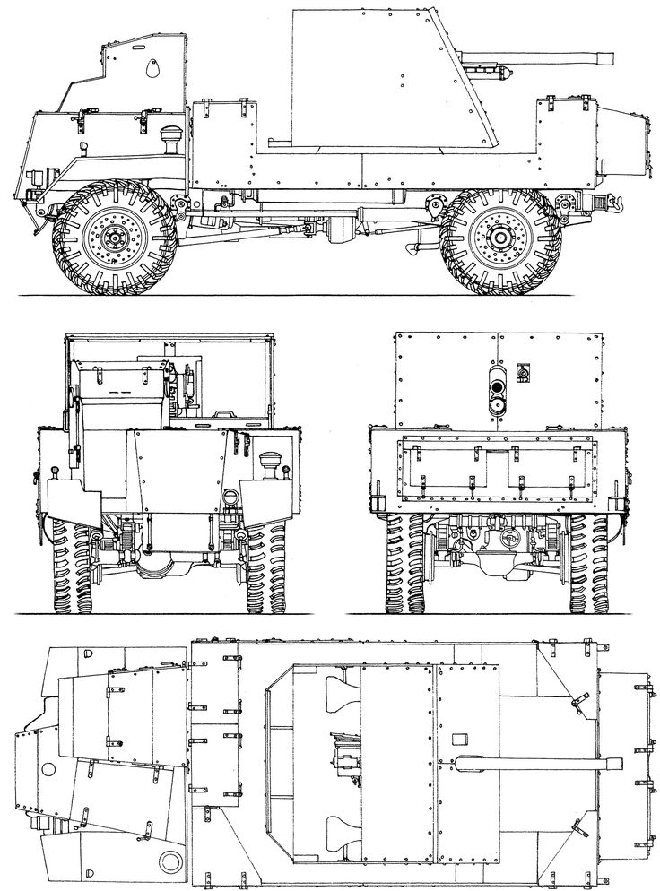 57 best WWI Blueprints images on Pinterest | Wwi, Armored car and ...