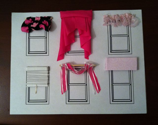"""This lesson teaches the basics parts of a window, window treatments and how to measure for window treatments. It also allows students to physically """"make"""" small versions of different window treatments. These projects make great display pieces for your department's display case or open house!"""