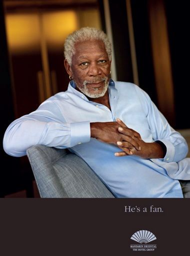 """He is one of the world's most recognizable actors. A self-confessed adventurer Morgan Freeman says his favorite thing about travelling is that """"you're going to meet new people and terrify them"""". #FanOfMO #MOfan #MOpud #MO_pudong #MO_shanghai #mandarinorientalpudongshanghai #celebrities # MorganFreeman #actor #travel"""