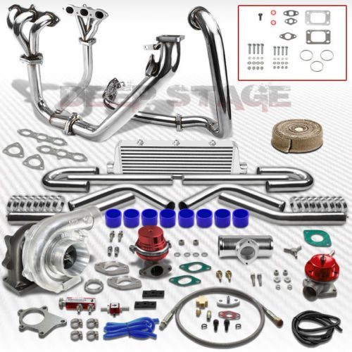 T04E-T3T4-11PC-TURBO-KIT-W-INTERCOOLER-WASTEGATE-MANIFOLD-ACCORD-V6-3-0-J30A1