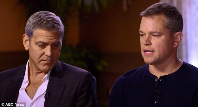 George Clooney, Matt Damon Admit They Knew Harvey Weinstein Was Sexual Predator (VIDEO)