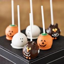 Halloween Browniepops