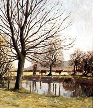Cattle by a Pond  Dora Carrington