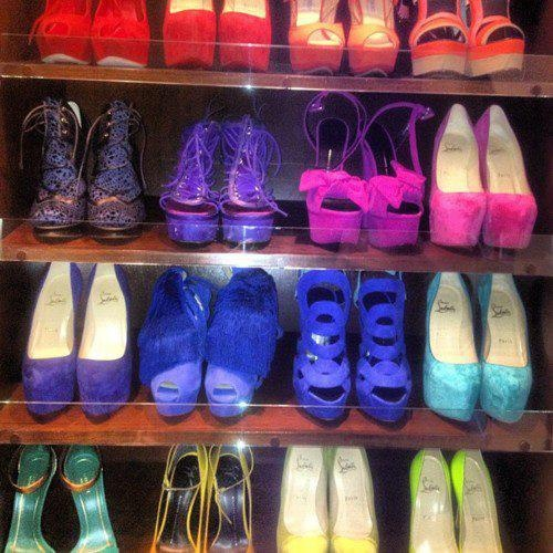Love all these shoes