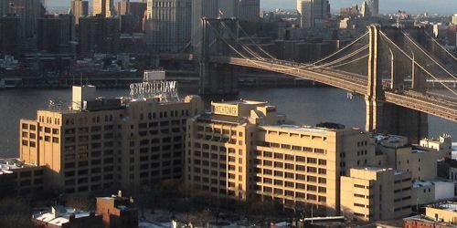 Watchtower Society Building & Brooklyn Bridge