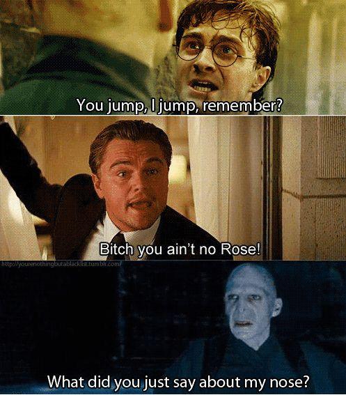 Harry Potter meet Leonardo DiCaprio....