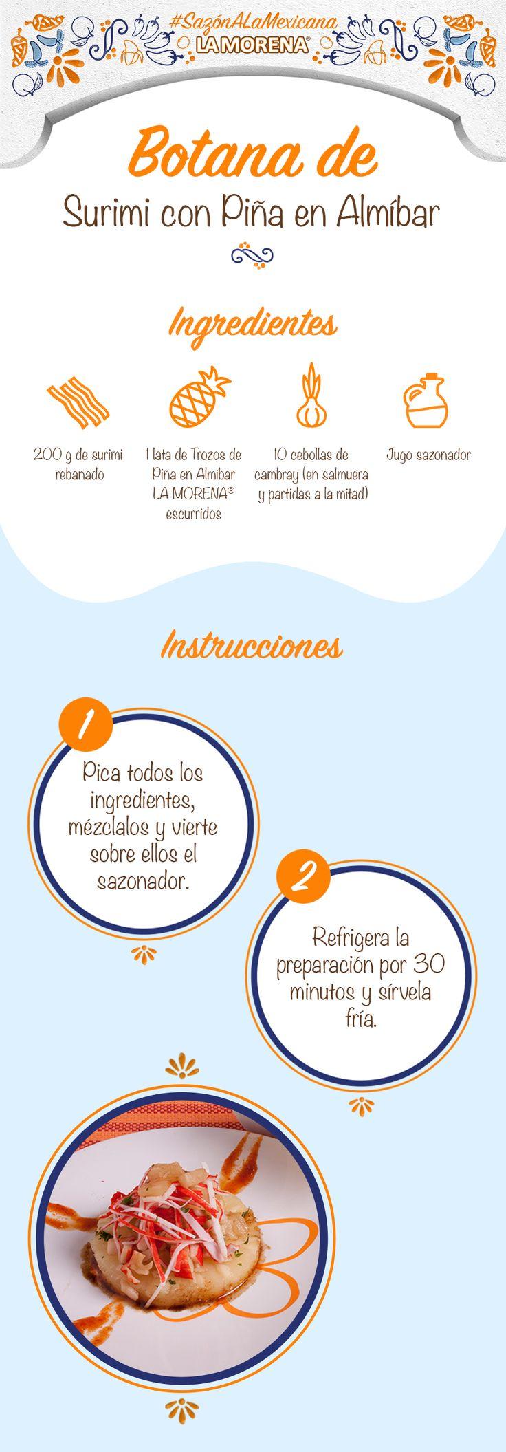 Las vacaciones son el momento ideal para crear nuevos platillos con los Trozos de Piña en Almíbar La Morena.