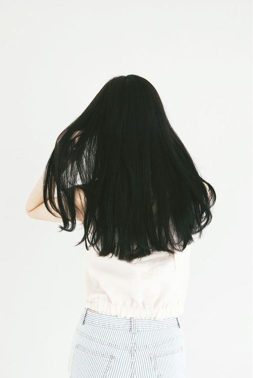 Black hair                                                                                                                                                                                 More