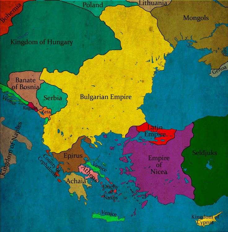 Bulgaria under Tsar empror Ioan Asen II
