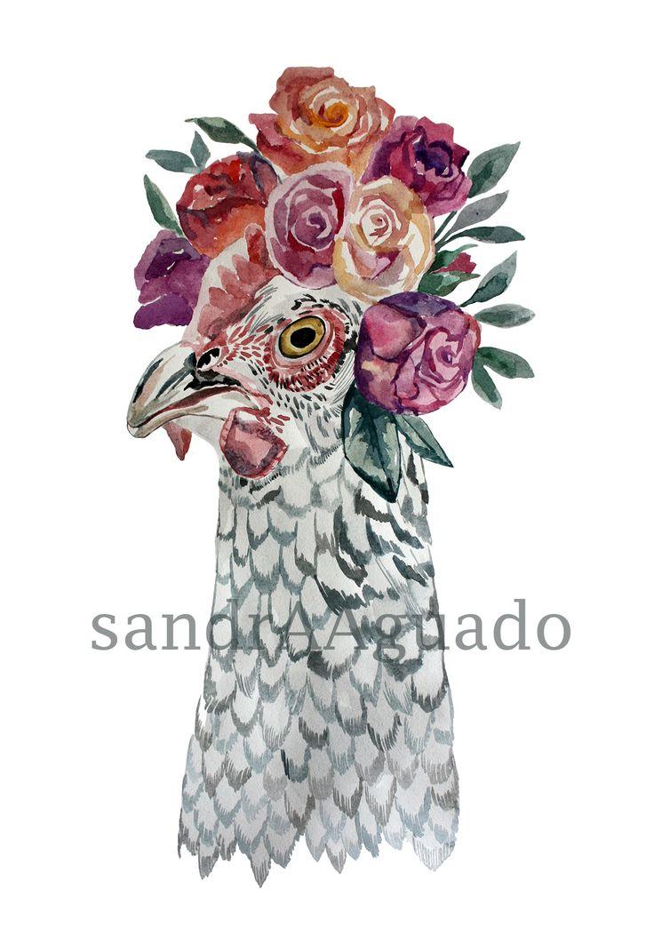 Gallina de Primavera. Sandra Aguado