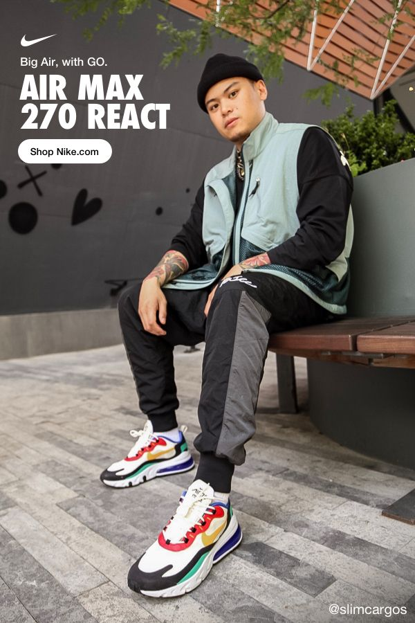 Introducing Air Max 270 React\u2014a new take on big Air that