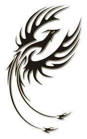 Phoenix Tribal Tattoo Design | Tattoo Picture, Photos and Design ...