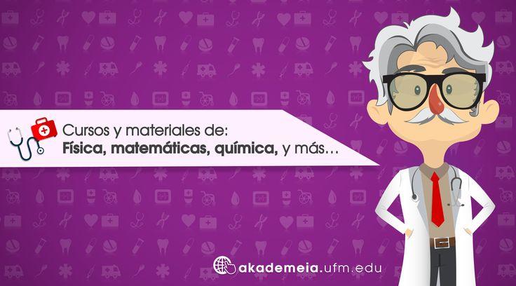 Aprende con nosotros cursos Preuniversitarios de: Física, matemáticas, química, y más… ¡Visítanos! ➔http://akademeia.ufm.edu/home/?page_id=6  #UFMSoyAkademeia #Física #Matemáticas #Química #Medicina