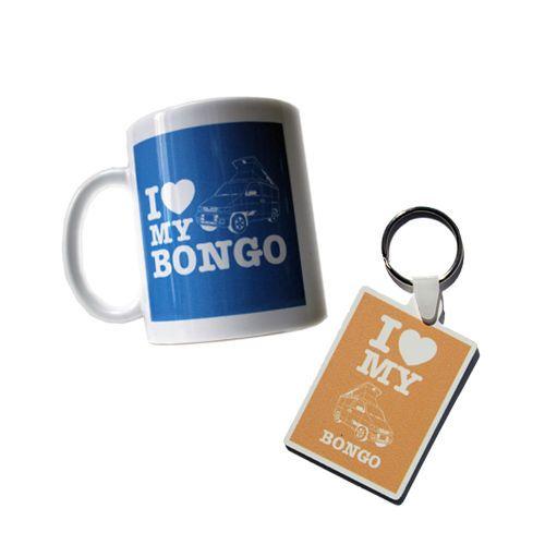 MAZDA BONGO FRIENDEE FORD FREDA CAMPERVAN MUG & KEYRING I Love My Bongo - NEW   eBay