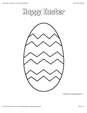 large easter coloring pages - photo#18