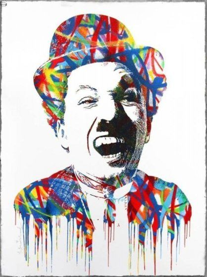 Charlie Chaplin 2015 by Mr. Brainwash