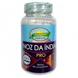 Super Farinha Noz da Índia 180 Comprimidos 800mg Nutrigold - nozes da índia, emagracedor, emagrecedores, dieta, queima gordura, gordura localizada, emagrecer, perder peso, nozes da india, nozesm  pro, Pro, Pró, pró, nozes da india pro