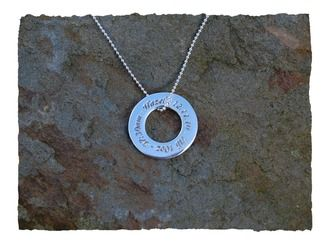 Celebrate a major event in your life http://www.silverhavenjewellery.com/celebration-ring-pendant/