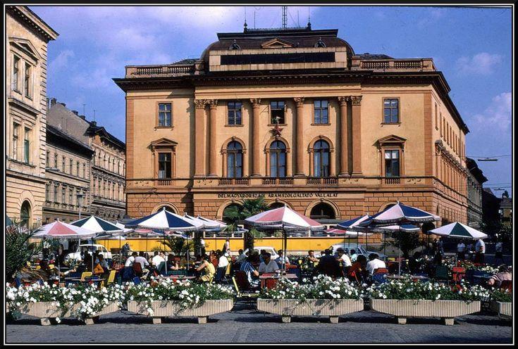 Szeged, Klauzál tér 1970-ben.