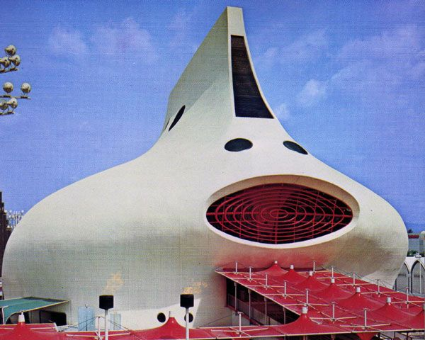 the Gas Pavilion at Expo 70 Osaka