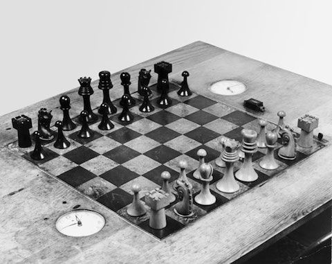 Marcel Duchamp, Chess Enthusiast, Created an Art Deco Chess Set That's Now Available via 3D Printer