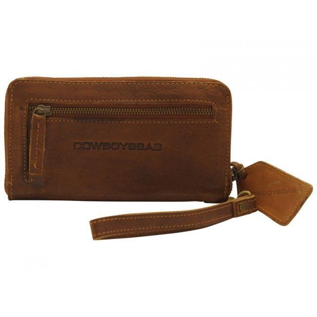 Cowboysbag Portemonnee Huddersfield Cognac