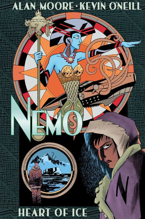 Nemo: Heart of Ice by Alan Moore and Kevin O'Neill.  Another in the League of Extraordinary Gentlemen series.