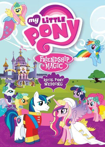 My Little Pony Friendship Is Magic: Royal Pony Wedding GAIAM INTERNATIONAL http://www.amazon.com/dp/B00803LRTC/ref=cm_sw_r_pi_dp_9X-lub1QX44CX