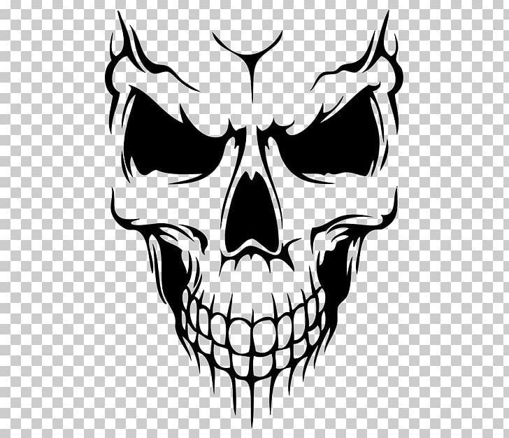 Skull Decal Silhouette Drawing Png Art Artwork Black Black And White Bone Skull Art Drawing Skull Decal Silhouette Drawing