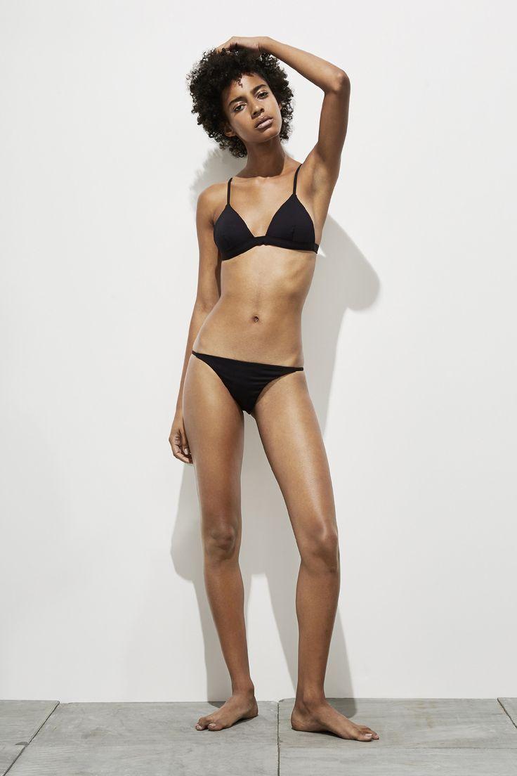 Mila – Coal Black - Two Piece swimwear - Her $165