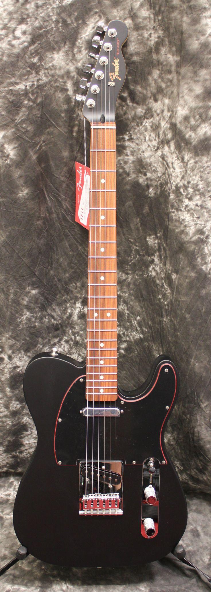 2017 Fender FSR Special Edition Telecaster Noir Satin Black Electric Guitar