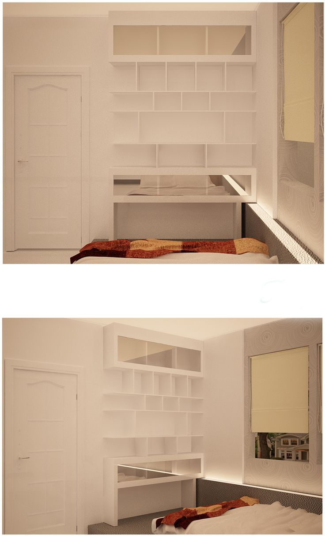 storage for michael, for placing many decoration stuff. #cornerstorage