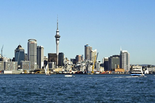 The Sky Tower in Auckland