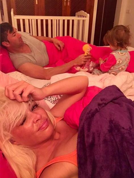 Daniela Katzenberger und Lucas Cordalis im Elternstress: