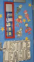 "Ms. Nancy's Nook : My Super Hero, ""Justice League"", Classroom"