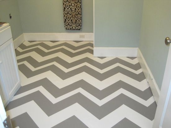 painted concrete floor in laundry room, basement, or mud room
